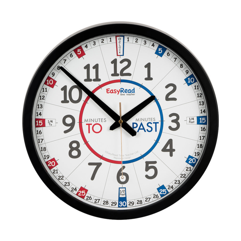 EasyRead Time Teacher - Outdoor Clock - Teaching time