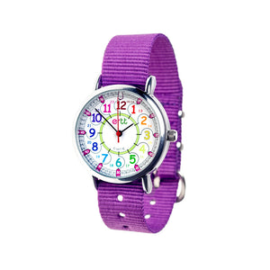 EasyRead Time Teacher Rainbow Face 24 Hour Watch (ERW-COL-24-P)