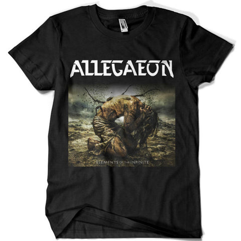 Allegaeon Elements of the Infinite T-shirt - billionaire dropouts