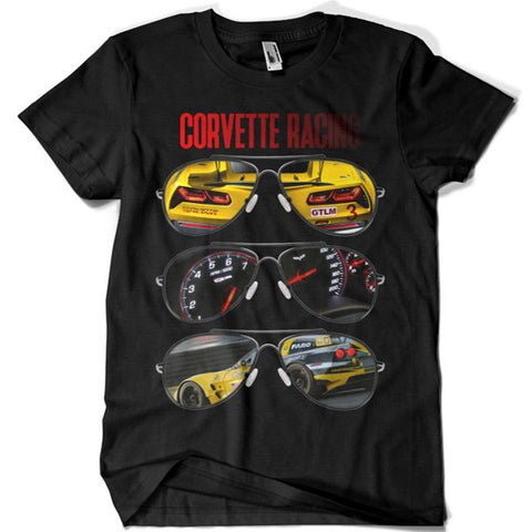 Corvette Racing Aviators T-shirt - billionaire dropouts