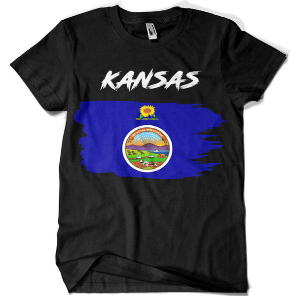 Kansas T-shirt - billionaire dropouts