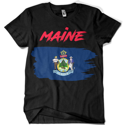 Maine T-shirt - billionaire dropouts