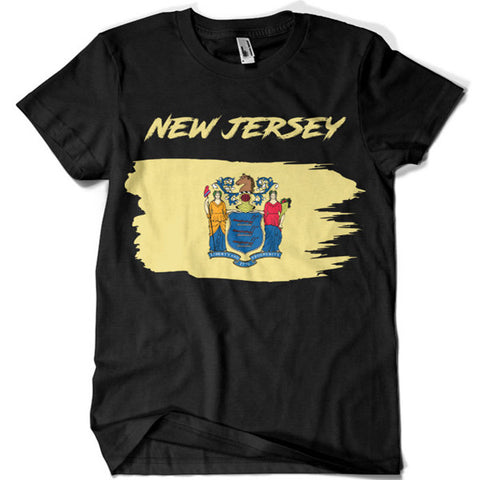 New Jersey T-shirt - billionaire dropouts
