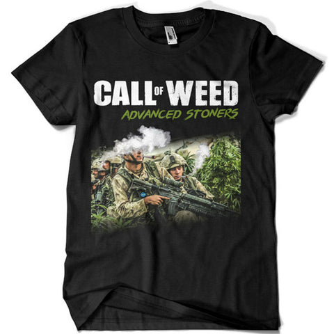 Call of Weed T-shirt - billionaire dropouts