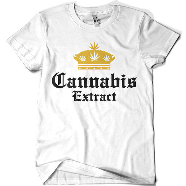 Cannabis Extract T-shirt - billionaire dropouts
