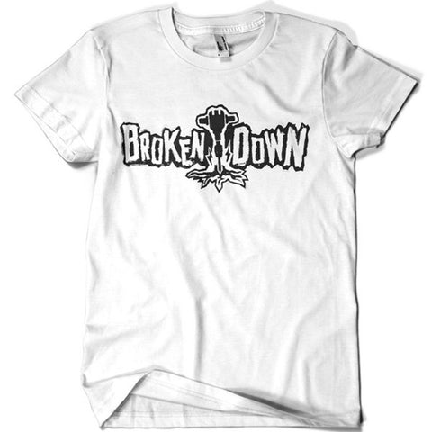 Broken Down T-shirt - billionaire dropouts