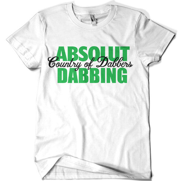 Absolut Dabbing Country of Dabbers T-shirt - billionaire dropouts