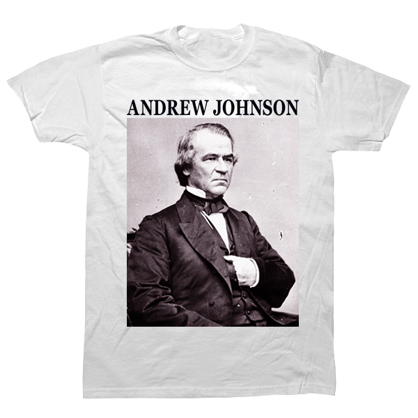 Andrew Johnson T-shirt - billionaire dropouts
