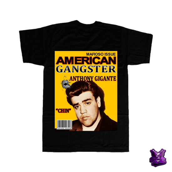 Anthony Gigante T-shirt - billionaire dropouts