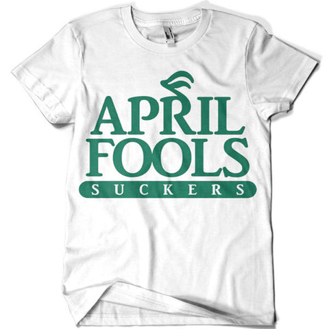 April Fools T-shirt - billionaire dropouts