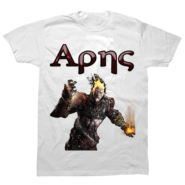 Ares Greek T-shirt - billionaire dropouts
