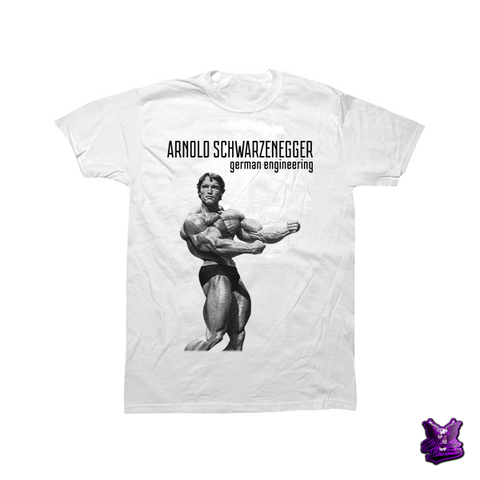 Arnold Schwarzenegger German Engineering T-shirt - billionaire dropouts
