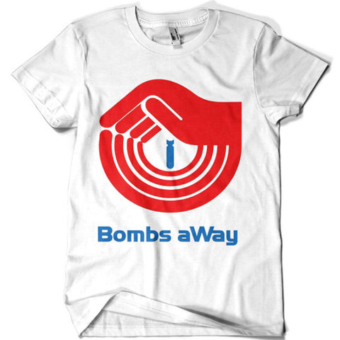 Bombs Away T-shirt - billionaire dropouts