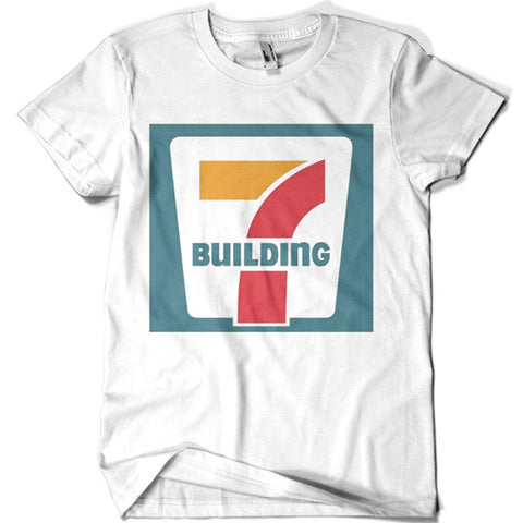Building 7 T-shirt - billionaire dropouts