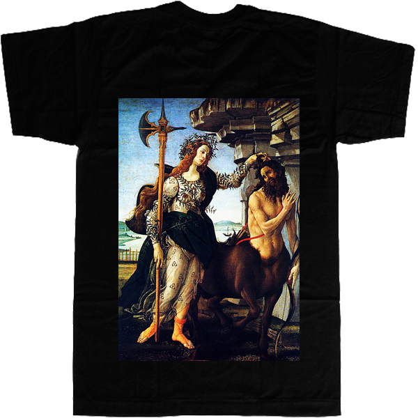 Centaur and Artemis in Troy T-shirt - billionaire dropouts