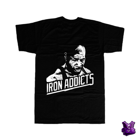 CT Fletcher Iron Addicts T-shirt - billionaire dropouts