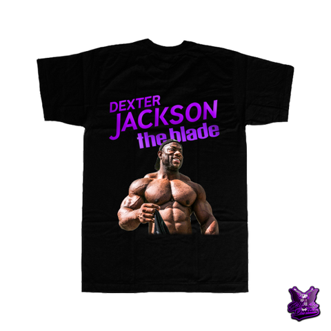 Dexter Jackson The Blade T-shirt - billionaire dropouts