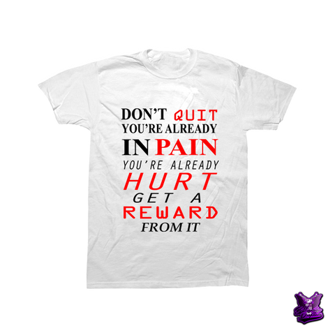 Don't Quit Motivation T-shirt - billionaire dropouts