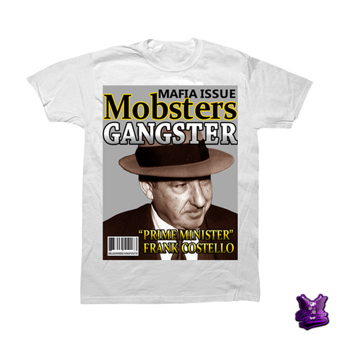 Frank Costello The Prime Minister T-shirt - billionaire dropouts