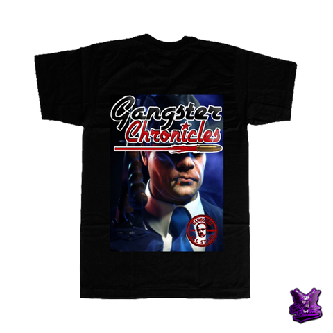 Gangster Chronicles Mafioso T-shirt - billionaire dropouts