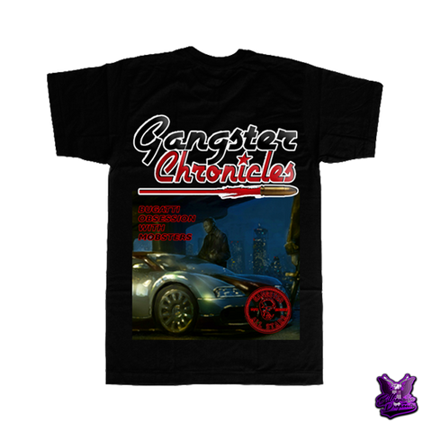 Gangster Chronicles Bugatti T-shirt - billionaire dropouts