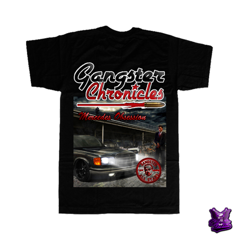 Gangster Chronicles Mercedes Obsession T-shirt - billionaire dropouts