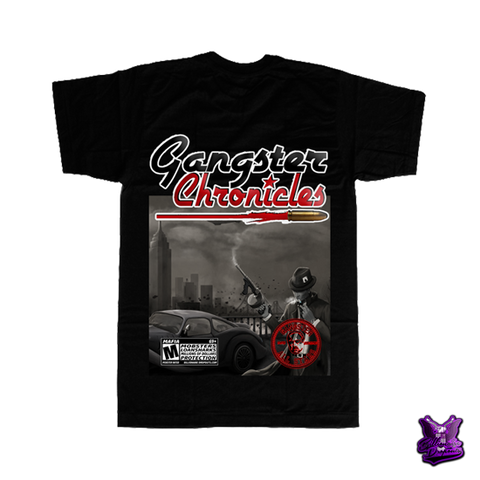 Gangster Chronicles New York City T-shirt - billionaire dropouts