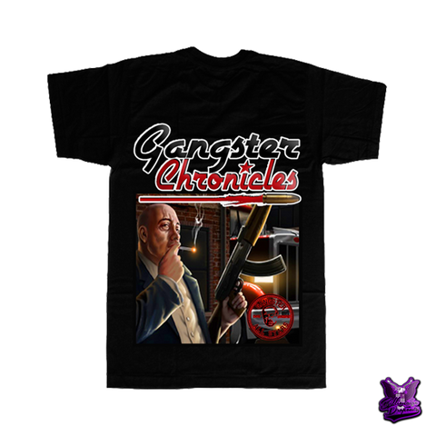 Gangster Chronicles Mafia Standby T-shirt - billionaire dropouts