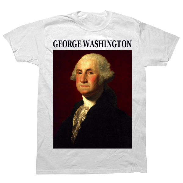 George Washington T-shirt - billionaire dropouts