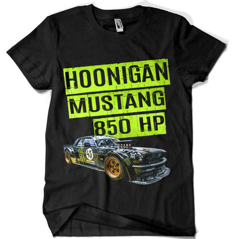 1969 Mustang Hoonigan RTRX T-shirt - billionaire dropouts