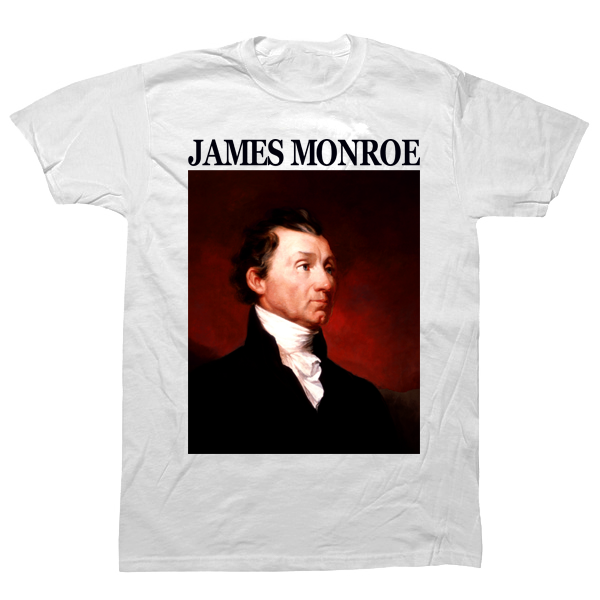 James Monroe T-shirt - billionaire dropouts