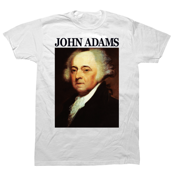 John Adams T-shirt - billionaire dropouts