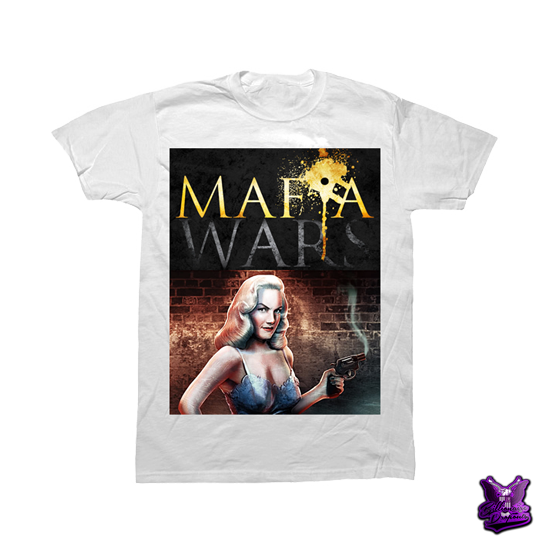 Mafia Wars T-shirt - billionaire dropouts