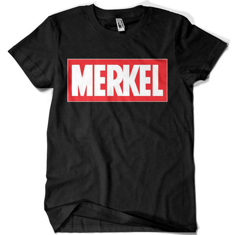 Chancellor of Germany Angela Merkel T-shirt - billionaire dropouts
