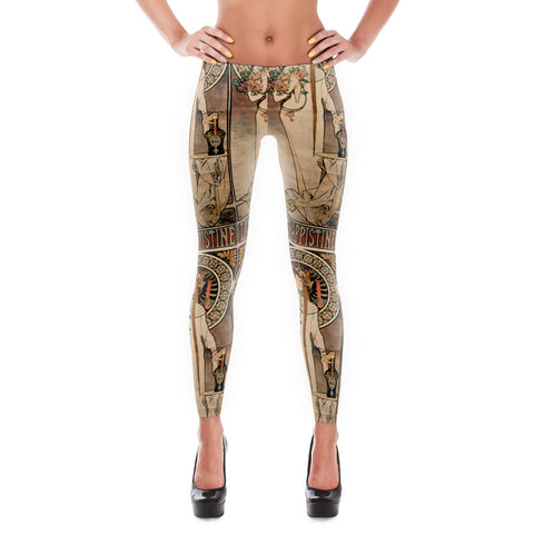 La Trappistine Soft Leggings - billionaire dropouts  - 1