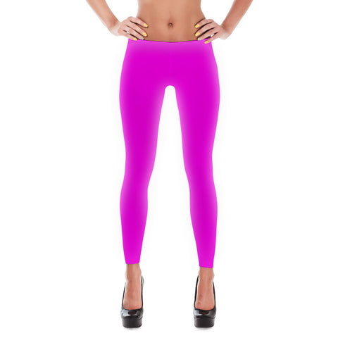 Pink Soft Leggings - billionaire dropouts  - 1