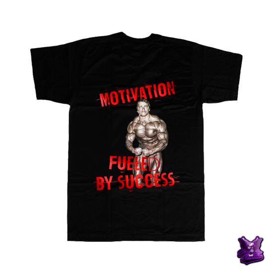 Motivation Fueled by Success T-shirt - billionaire dropouts