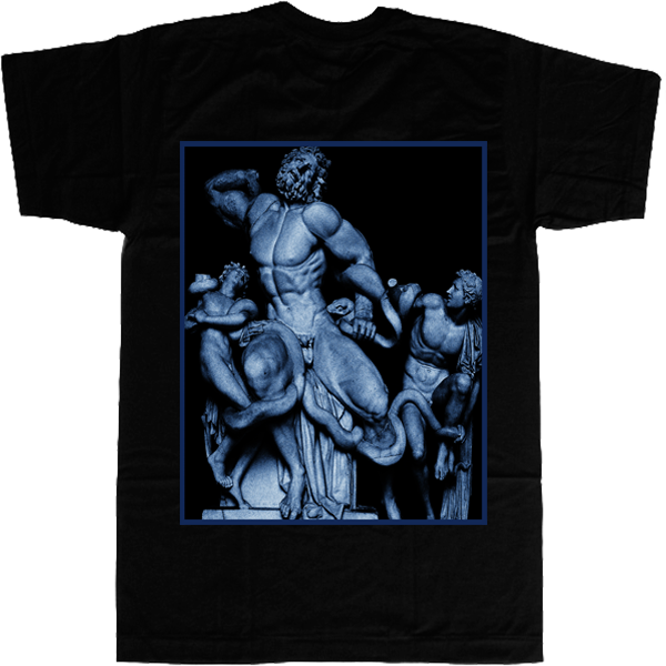 Poseidon Mythology T-shirt - billionaire dropouts