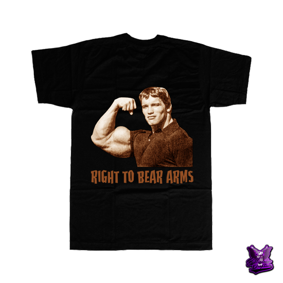Right to Bear Arms T-shirt - billionaire dropouts