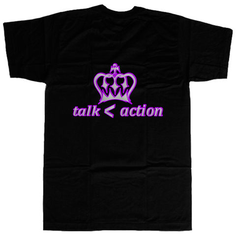 Action Over talk T-shirt - billionaire dropouts