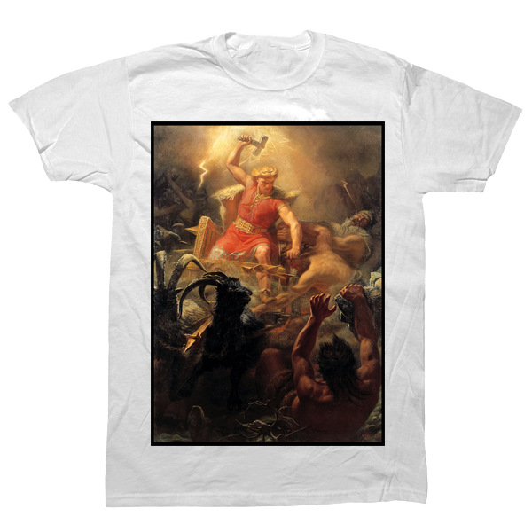 Thor Battle Giants T-shirt - billionaire dropouts