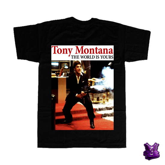 Tony Montana The World is Yours T-shirt - billionaire dropouts