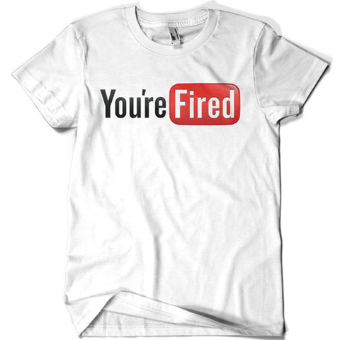 You're Fired T-shirt - billionaire dropouts