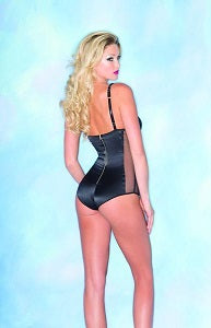 Sultry Black Bodysuit from Be Wicked