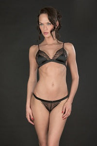 villa satine triangle bra