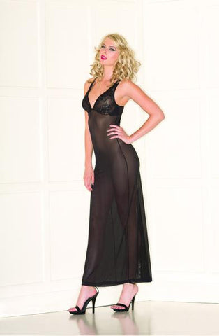 Ultra Sheer Lingerie Gown