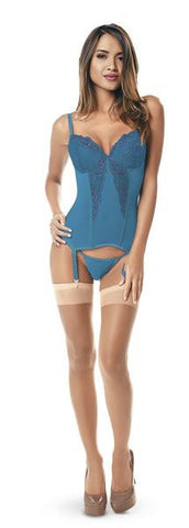 Cerulean Escape Bustier Set