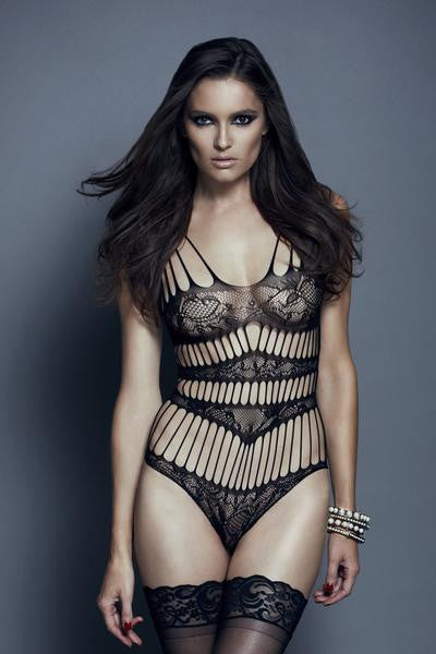 Seamless Lace Teddy