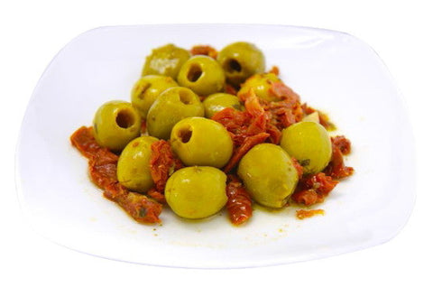 Torremar Gordal Olives with Tomato