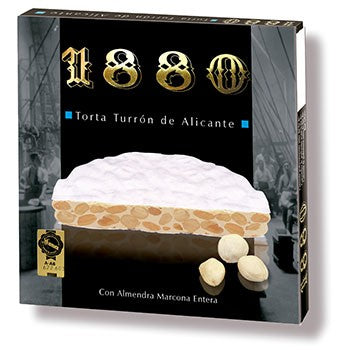 1880 Almond & Honey Brittle Rounds - Torta Turrón de Alicante - 1880